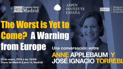 "Conferencia ""The Worst is Yet to Come? A Warning from Europe"""